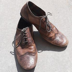 Bed Stu Men's Sz 9 Preforated Toe Shoes